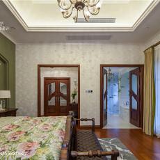 休闲美式风格卧室装修图