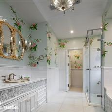 热门美式别墅卫生间欣赏图片