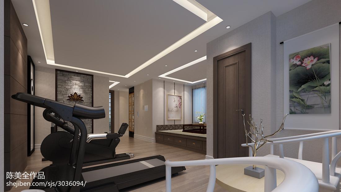 热门中式别墅休闲区装修设计效果图片大全