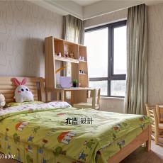 123平米现代复式儿童房实景图片