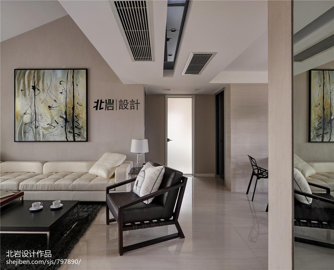 2018精选111平米现代复式客厅实景图片欣赏
