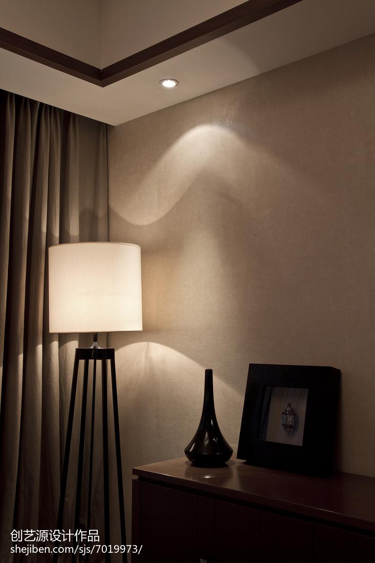 精美97平米三居客厅中式装修实景图片大全