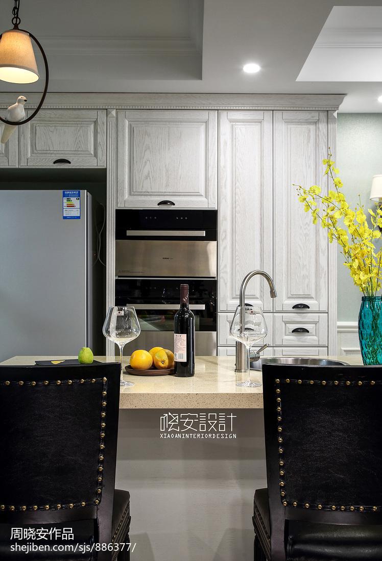 質樸69平美式復式廚房圖片欣賞