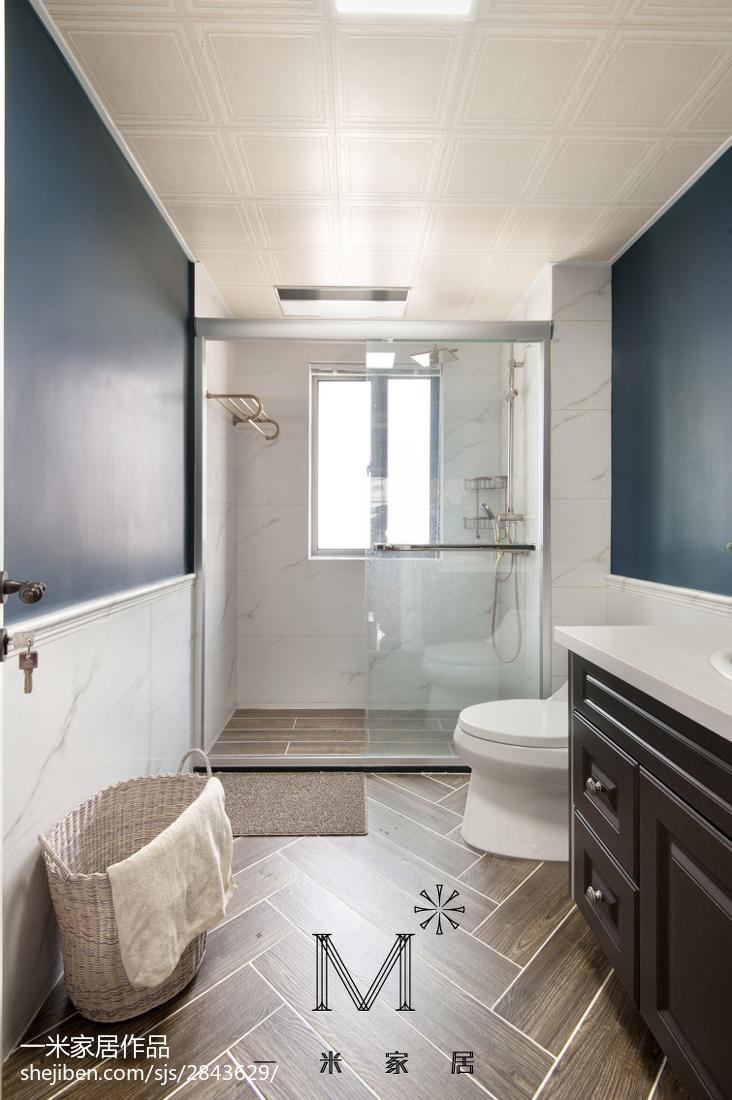 质朴111平美式三居装修装饰图