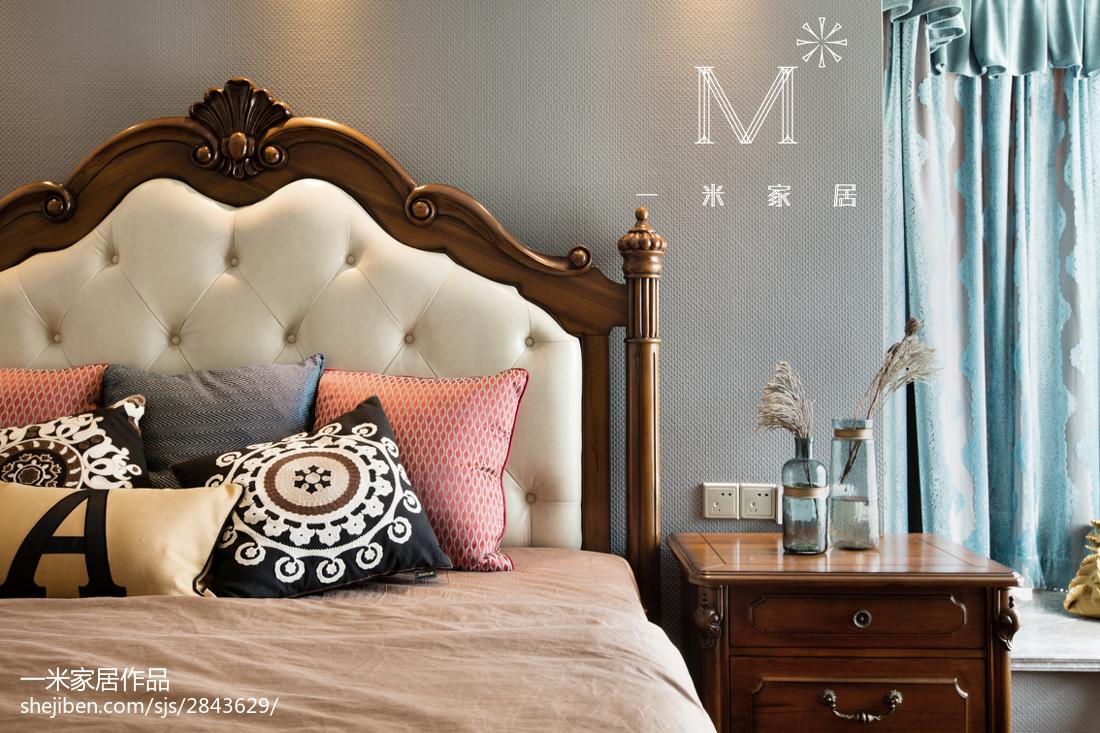 精美美式三居卧室装修设计效果图片欣赏