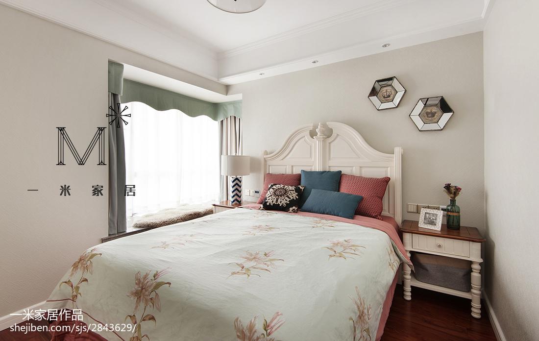 精美三居卧室美式装修效果图
