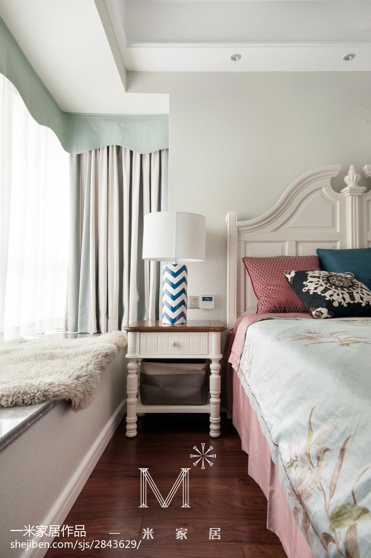 精选美式三居卧室效果图片欣赏