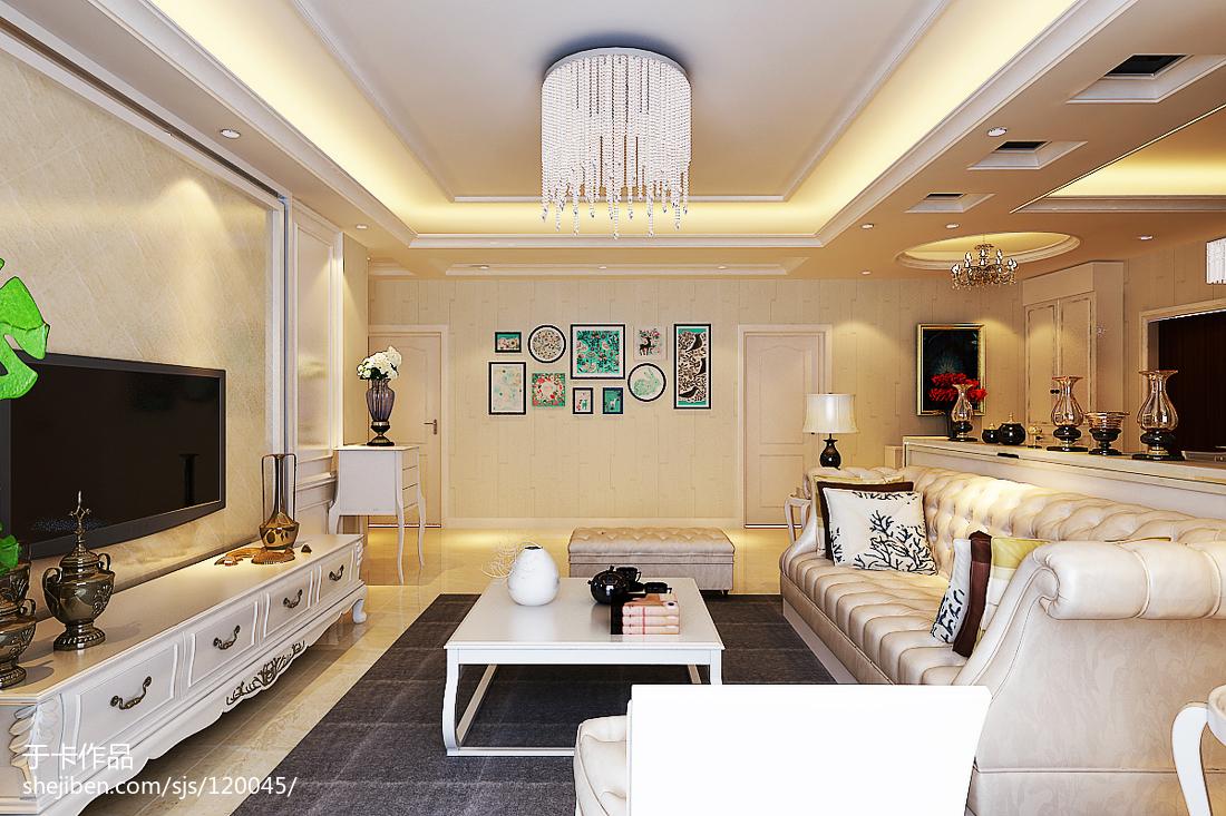 家装简约时尚风背景墙设计