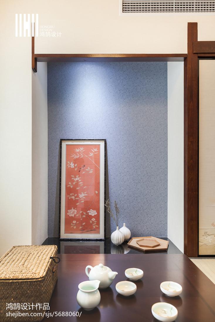2018131平米日式复式书房装修欣赏图片大全