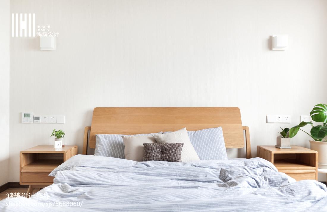 热门日式复式卧室实景图片大全