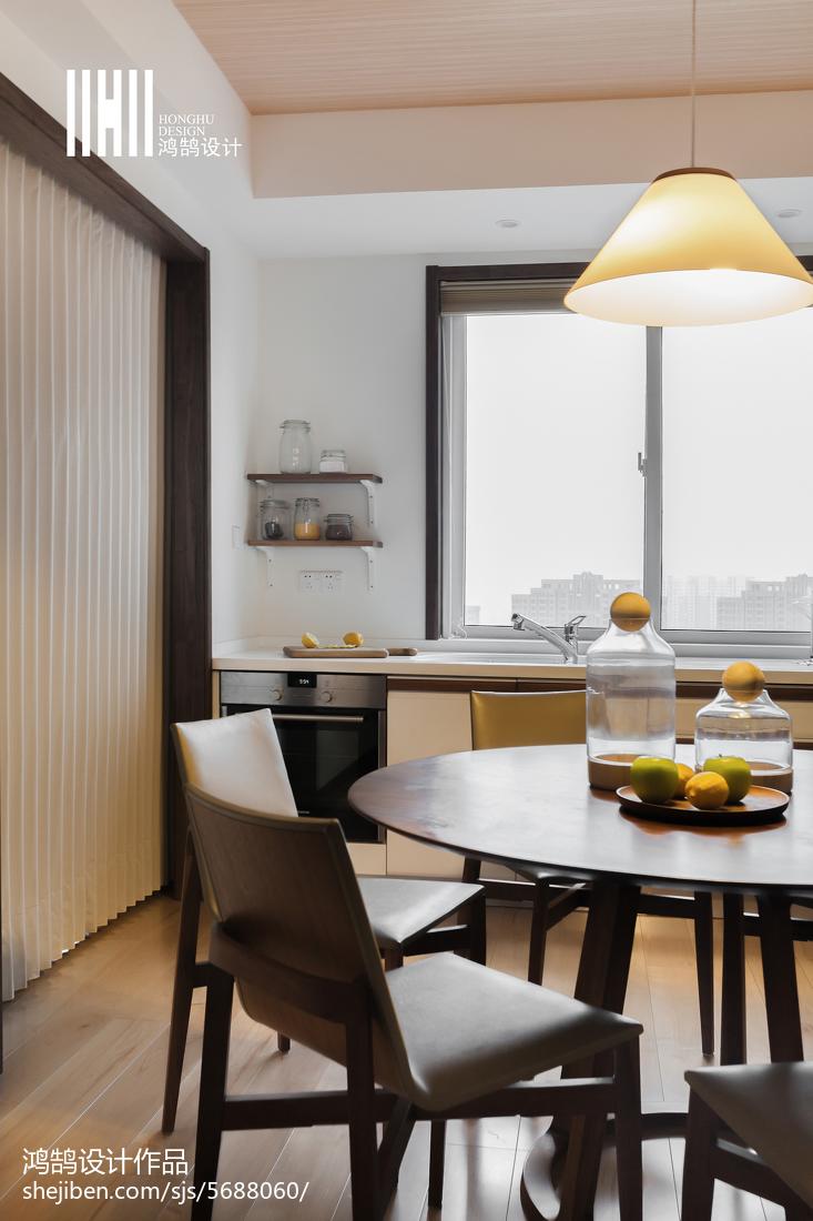 浪漫40平日式复式餐厅设计美图