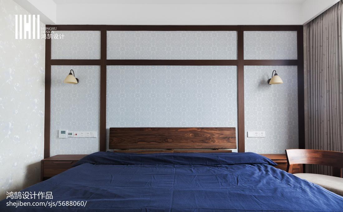简洁48平日式复式卧室实景图