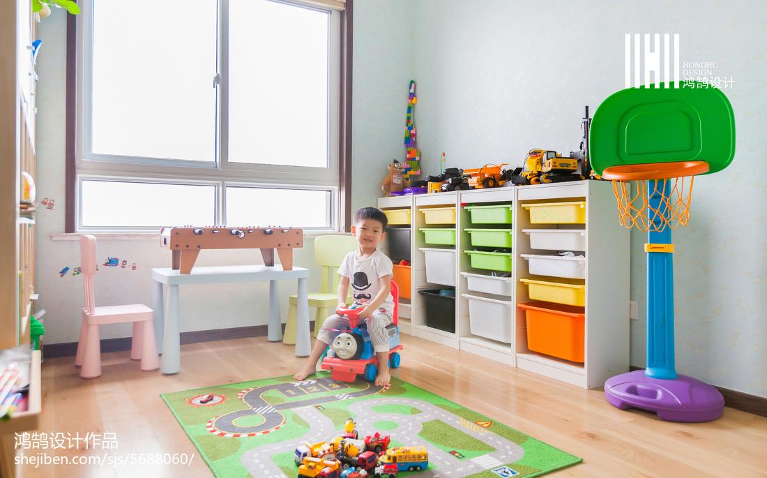 2018复式儿童房日式装修效果图片欣赏