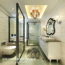 热门134平米欧式别墅卫生间装修效果图片
