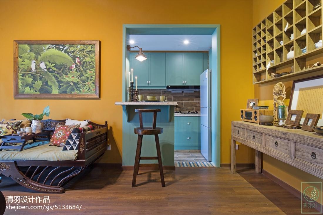 家居东南亚风格吧台装修