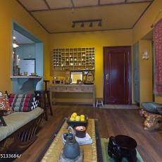 2018东南亚小户型客厅装修设计效果图片
