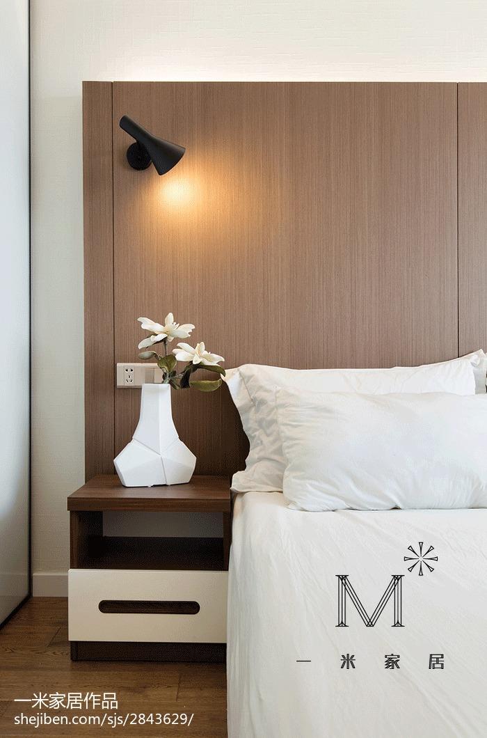 热门现代二居卧室装修欣赏图片大全
