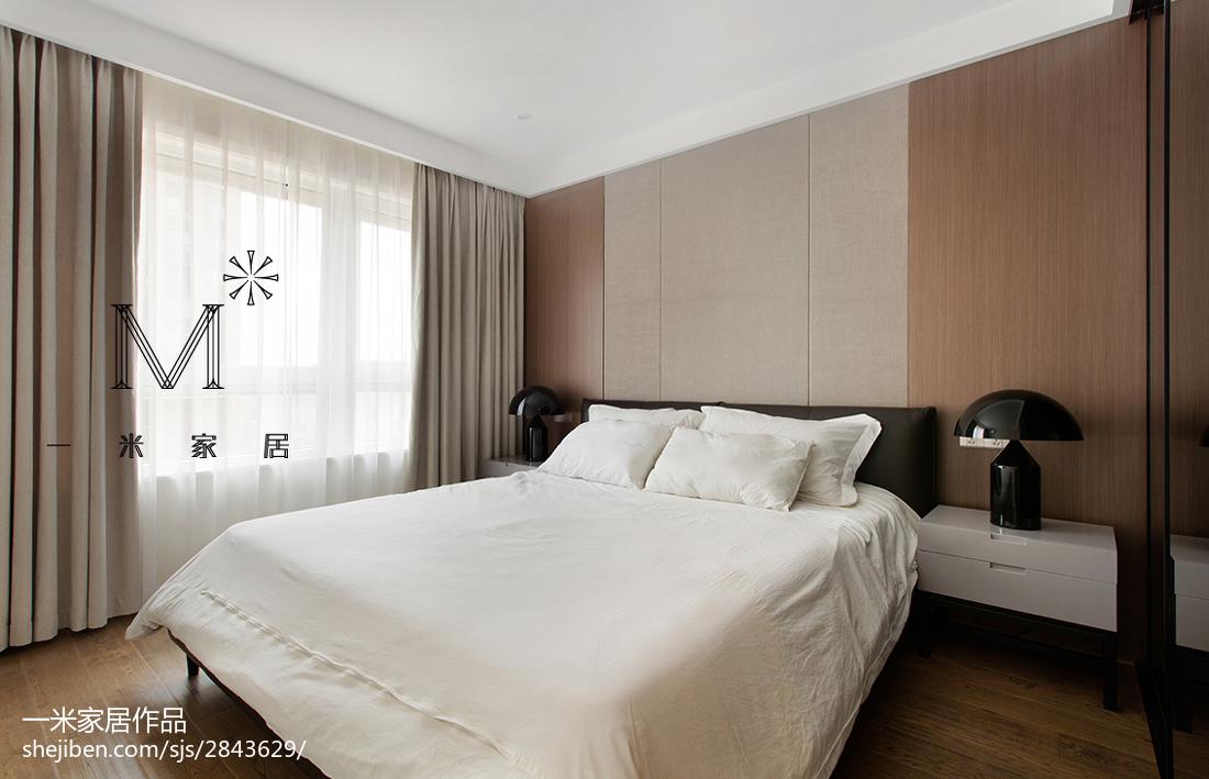 精美83平方二居卧室现代实景图