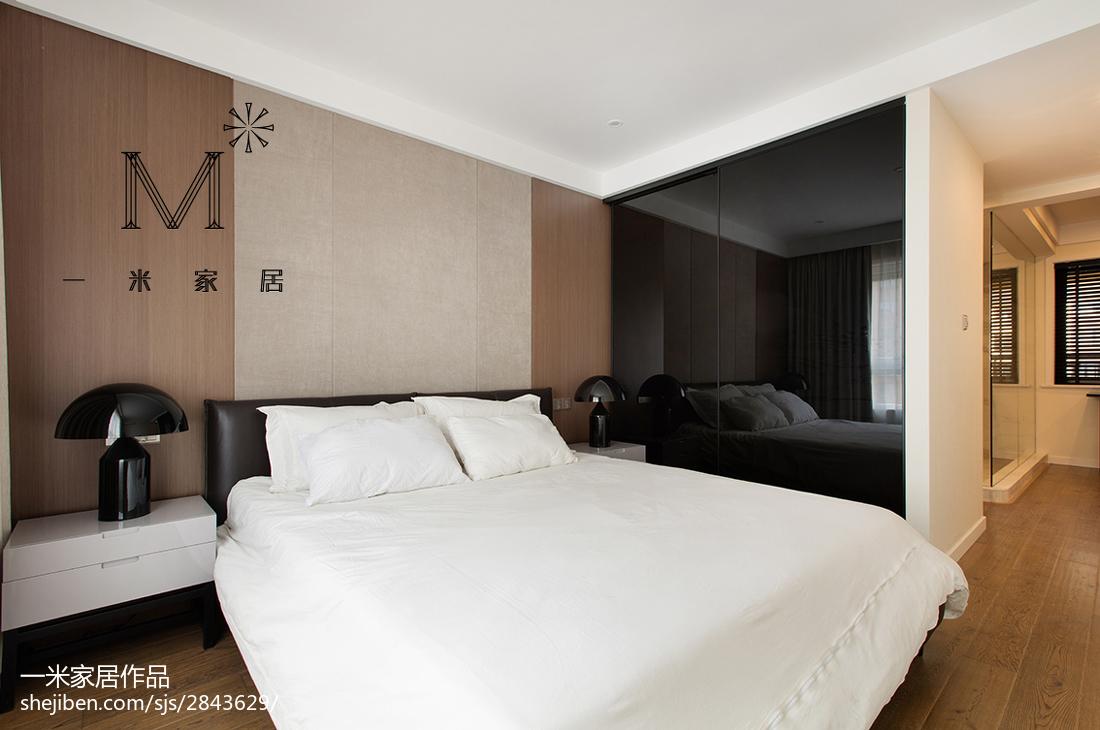 201889平米二居卧室现代装修设计效果图
