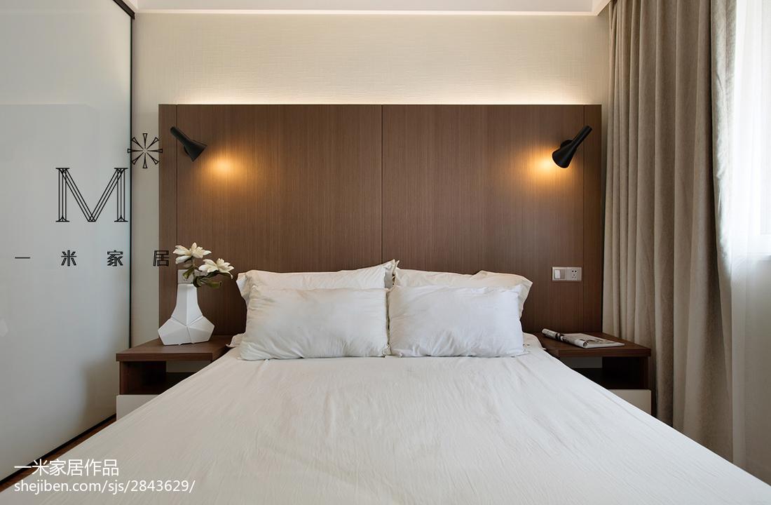精选面积70平现代二居卧室装修设计效果图