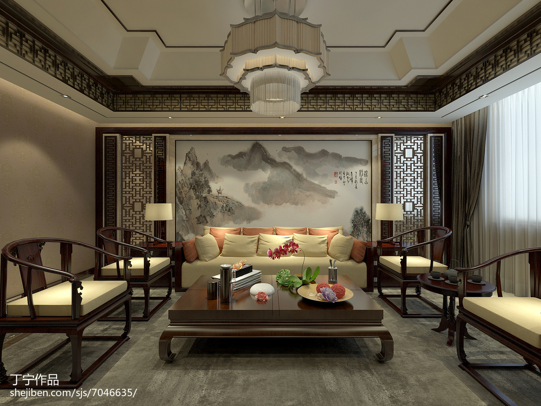 现代家装格调客厅效果图册