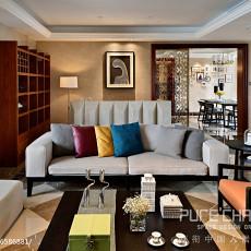 面积140平别墅客厅现代装修效果图片