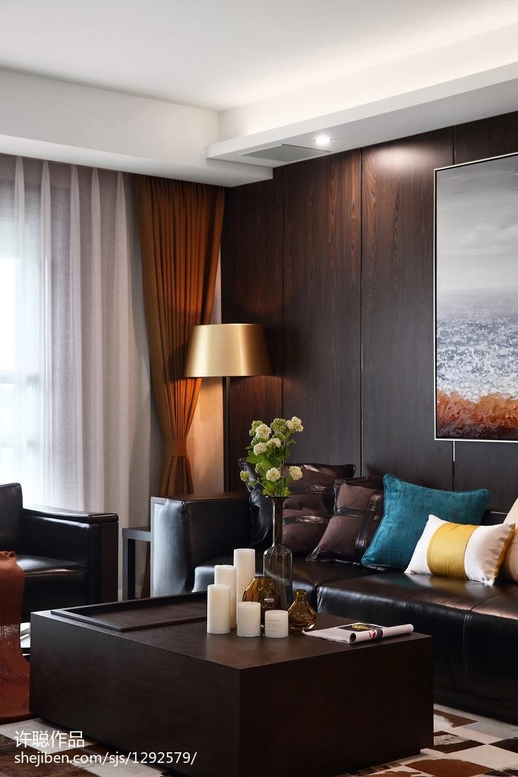 精美112平米四居客厅简约装修图片欣赏