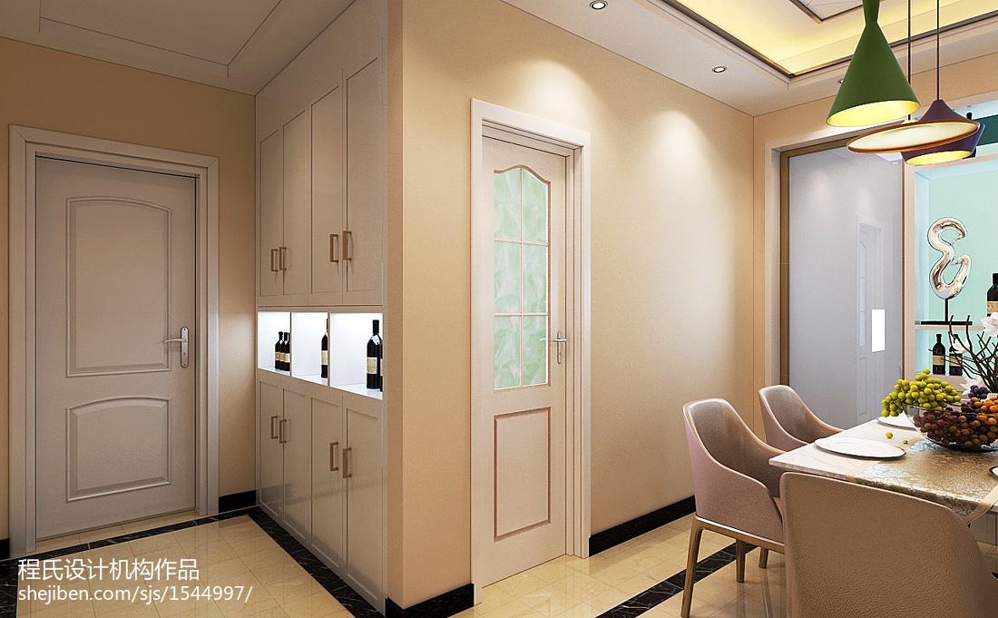 热门面积92平简约三居装修欣赏图