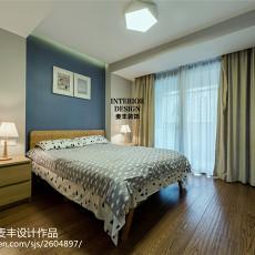 清新现代风格卧室装修图片