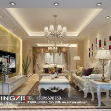 中式风格室内三居室图片欣赏大全
