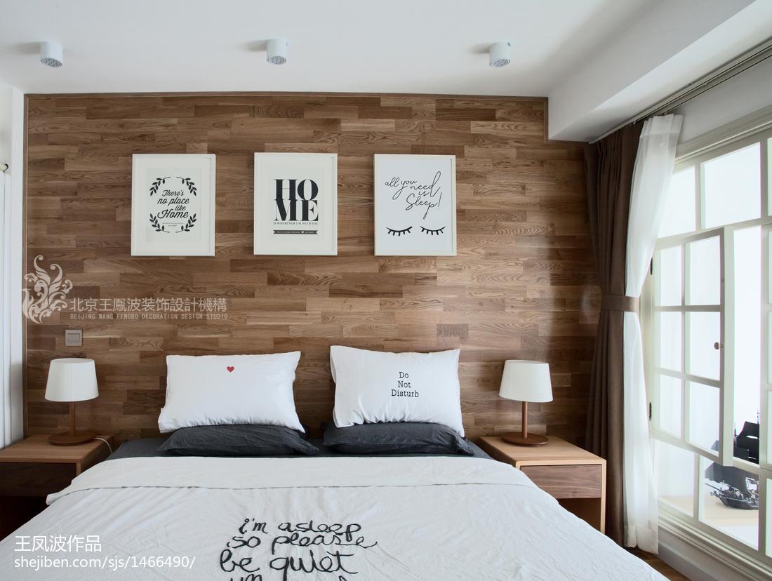 精选日式复式卧室装修实景图片