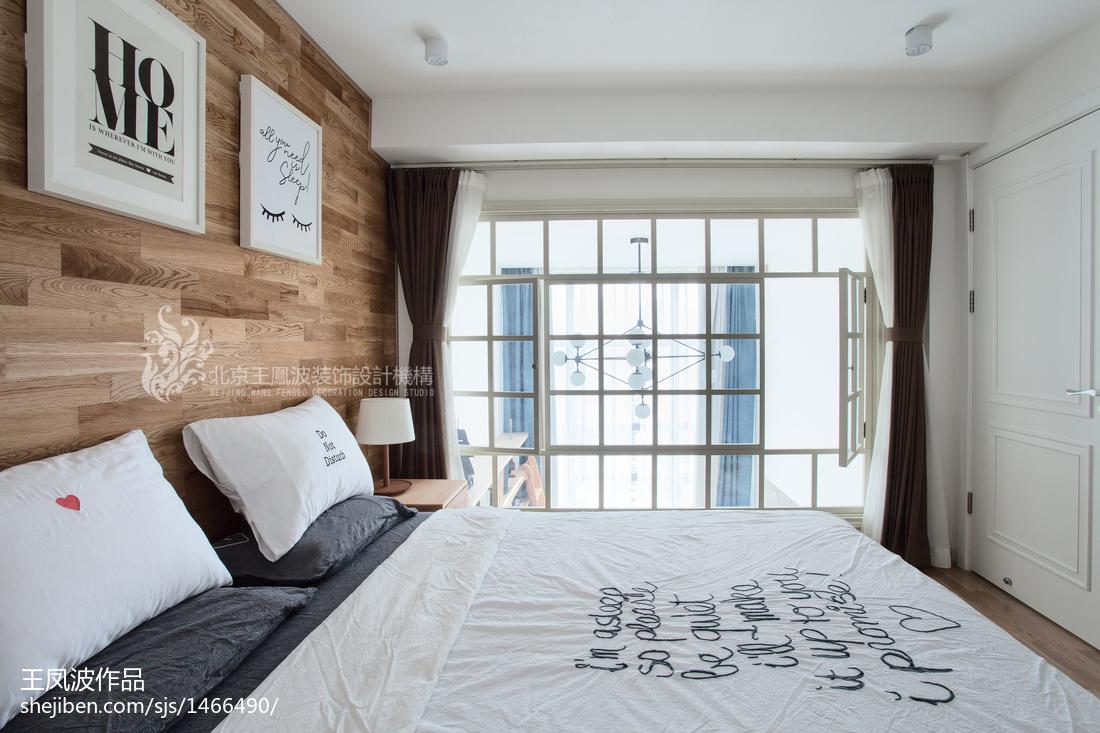 精选复式卧室日式效果图