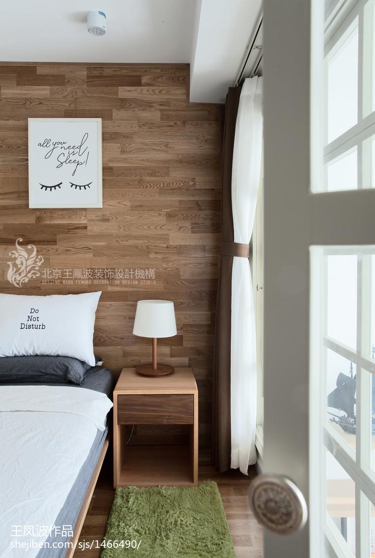 精美120平米日式复式卧室装修实景图片大全