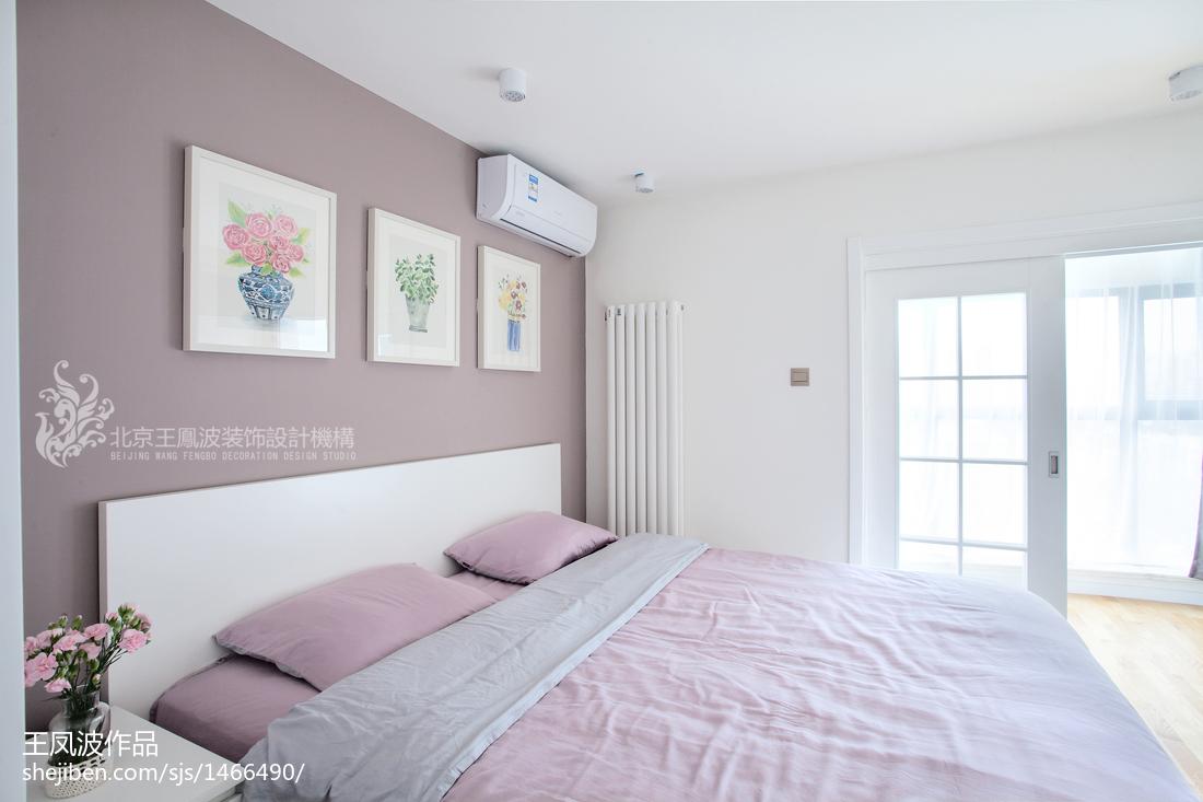 2018121平米日式复式卧室装饰图片大全