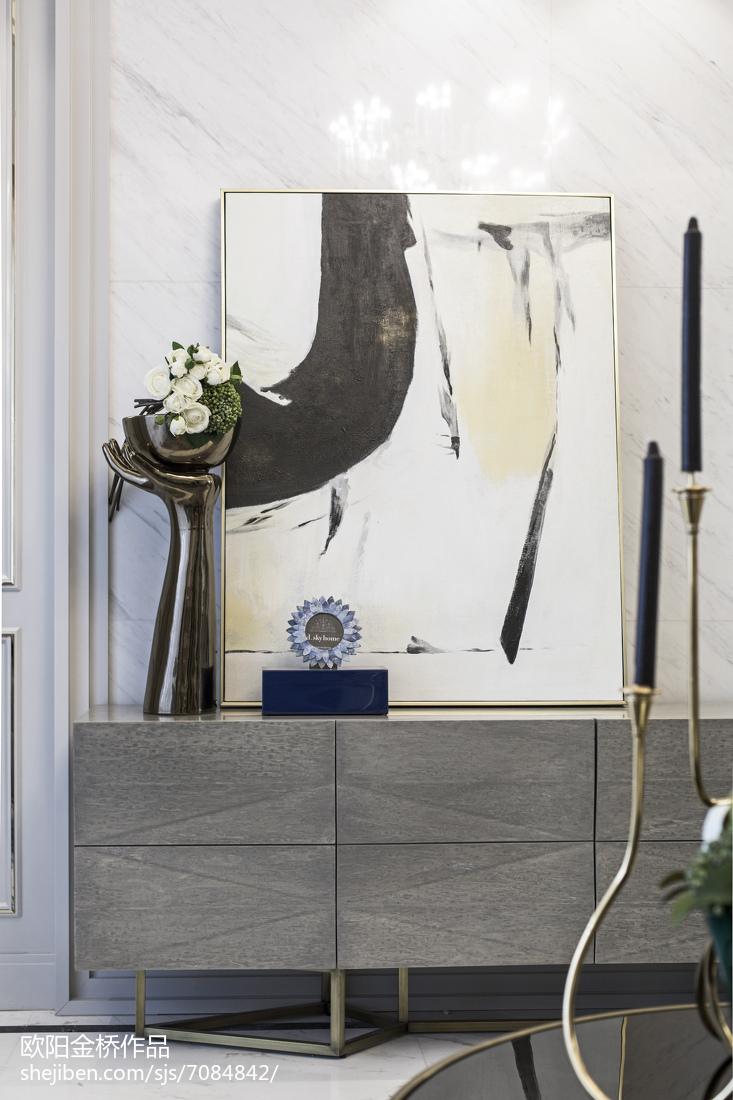 悠雅316平欧式样板间客厅装饰美图