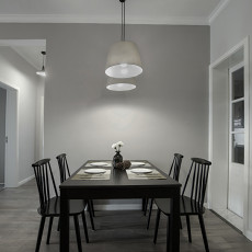 现代小户型餐厅装修设计效果图