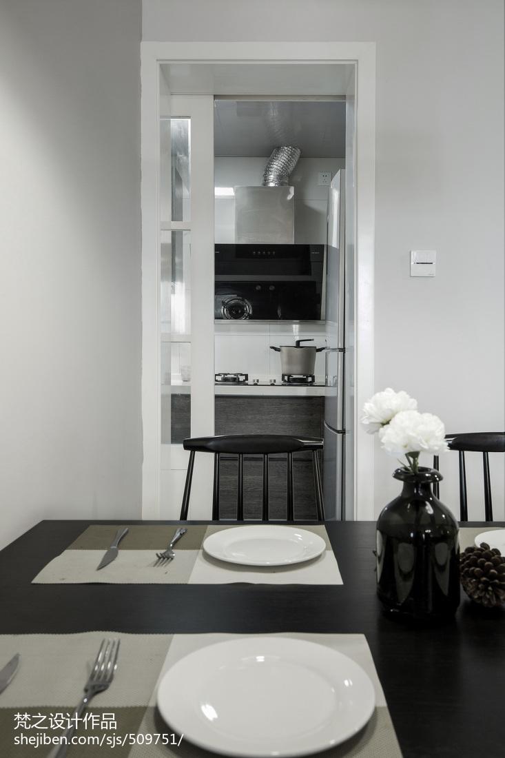 精美84平米现代小户型餐厅装修设计效果图片大全