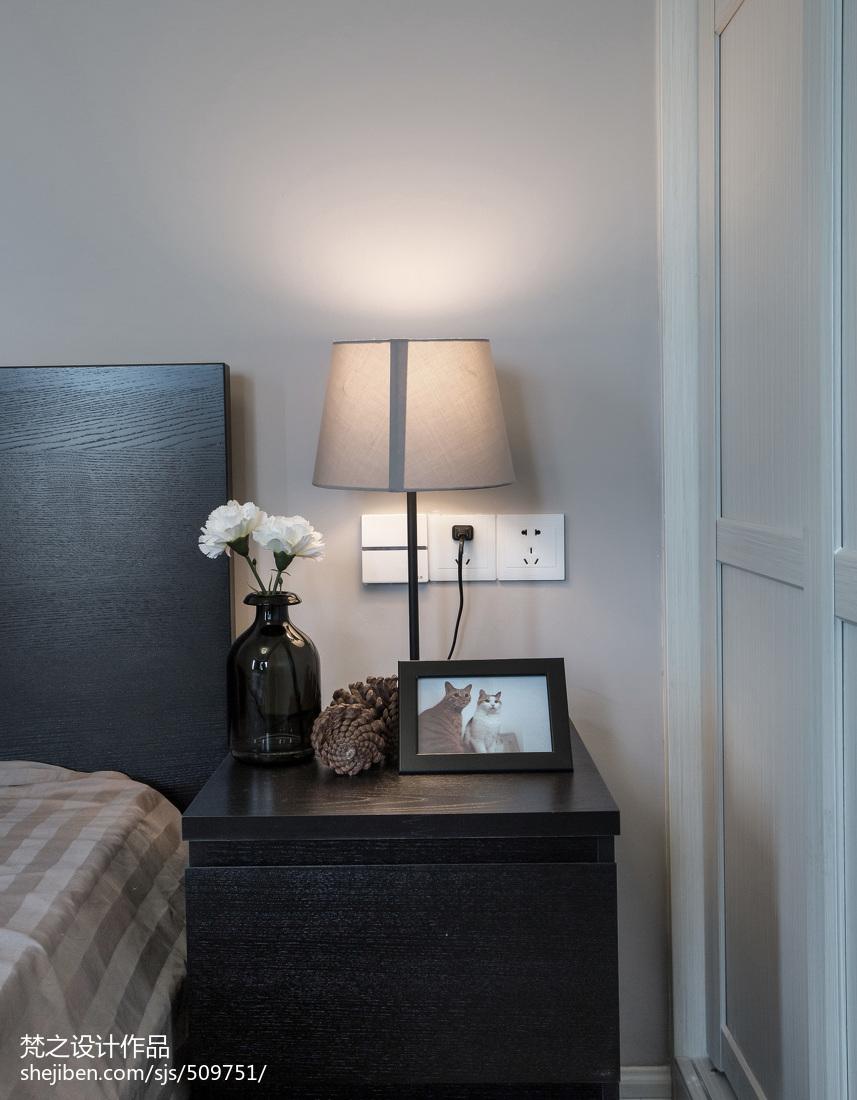 201879平米现代小户型卧室装修欣赏图片