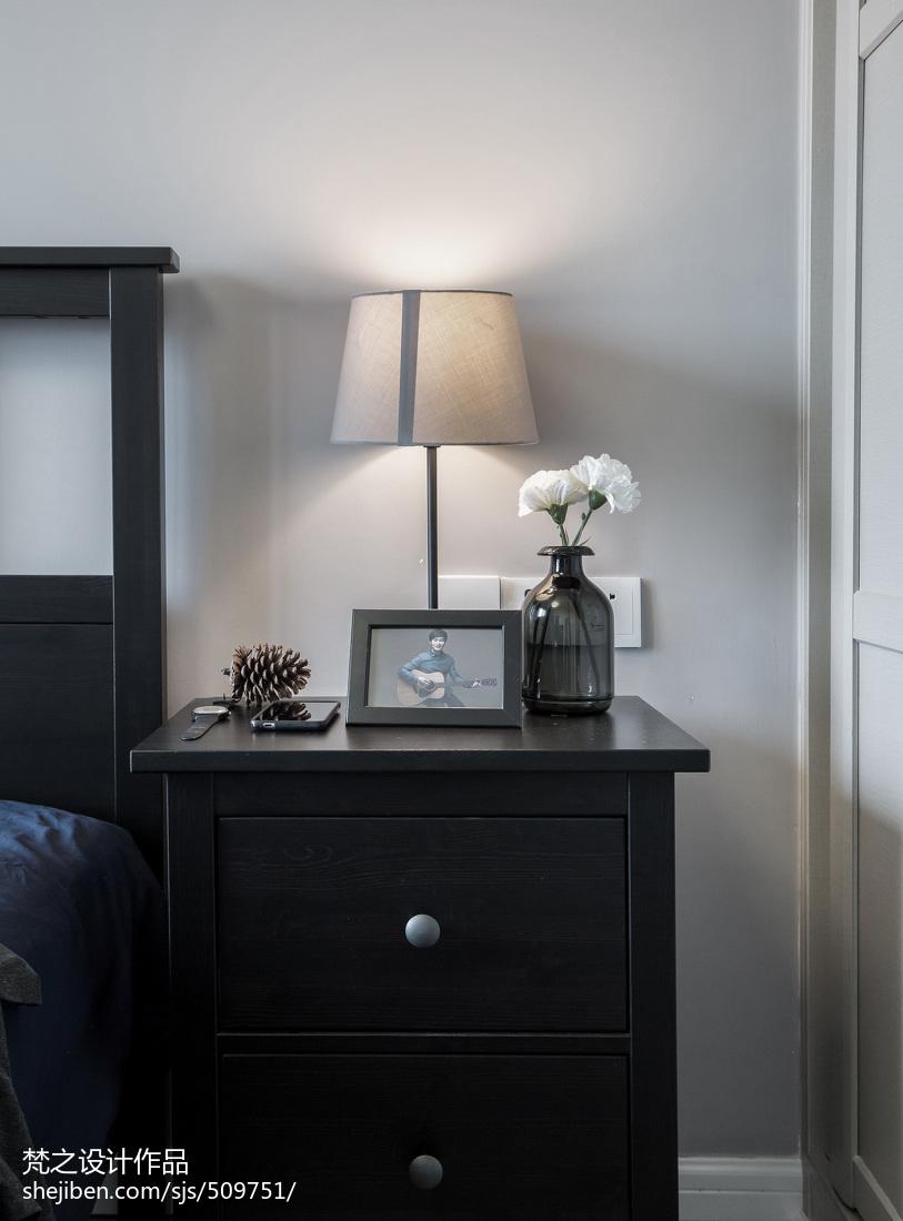 2018面积70平小户型卧室现代装修欣赏图片大全