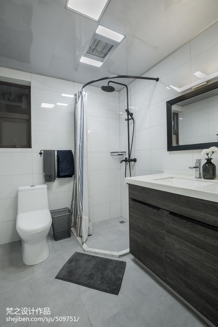 精选现代小户型卫生间装修图片欣赏