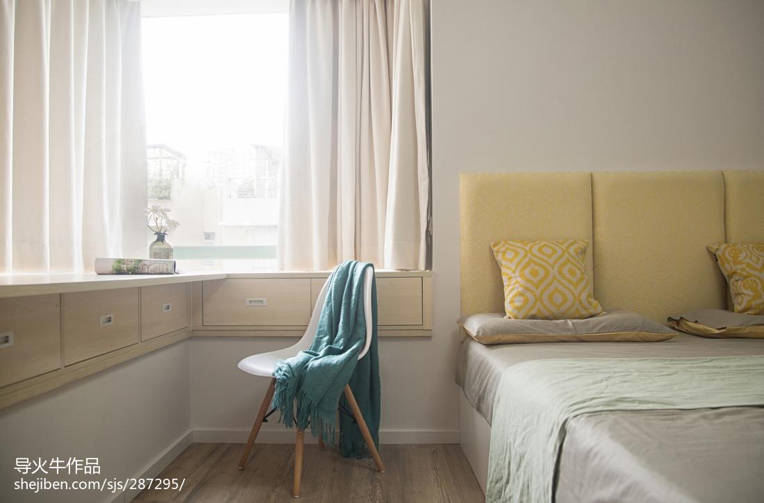 优美50平北欧复式卧室案例图