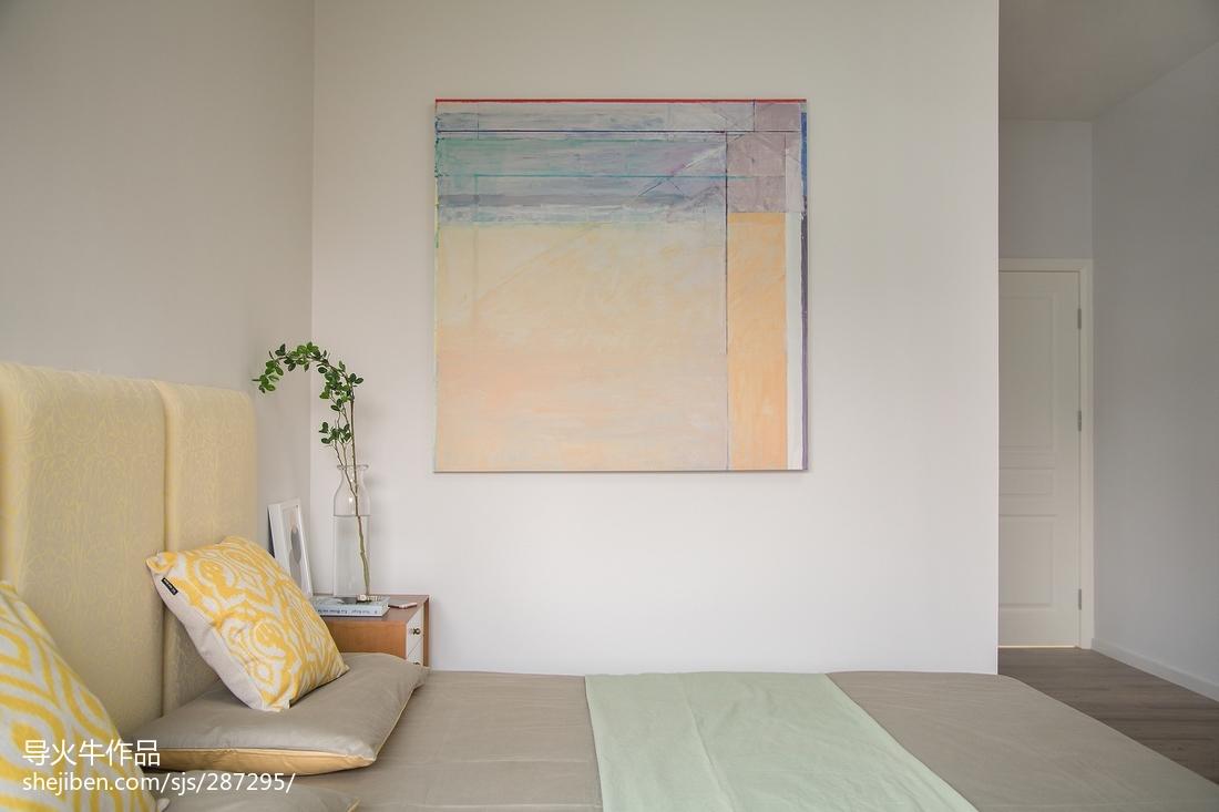 热门144平米北欧复式卧室装修设计效果图片