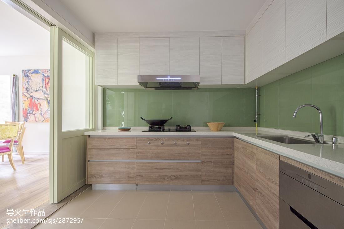 精选复式厨房北欧欣赏图片