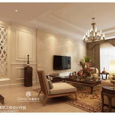 热门面积134平别墅客厅新古典装修设计效果图片欣赏