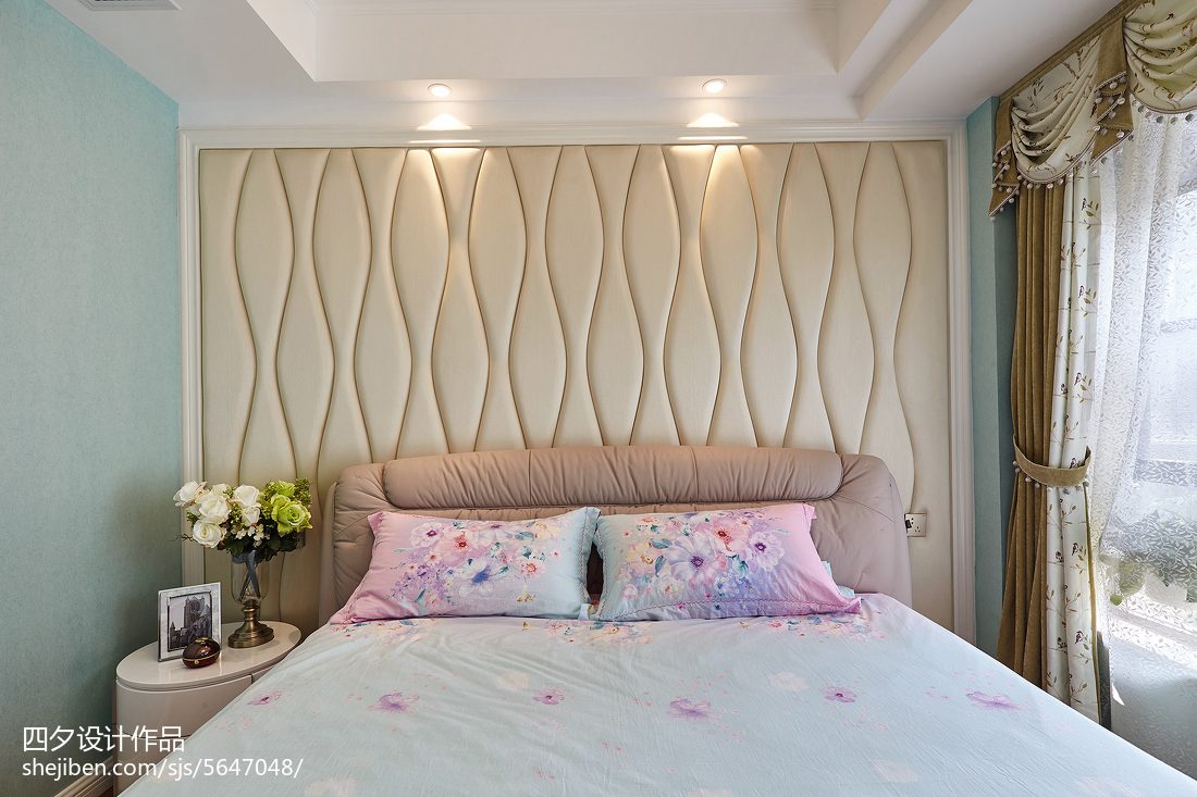 热门面积82平小户型卧室混搭实景图片大全