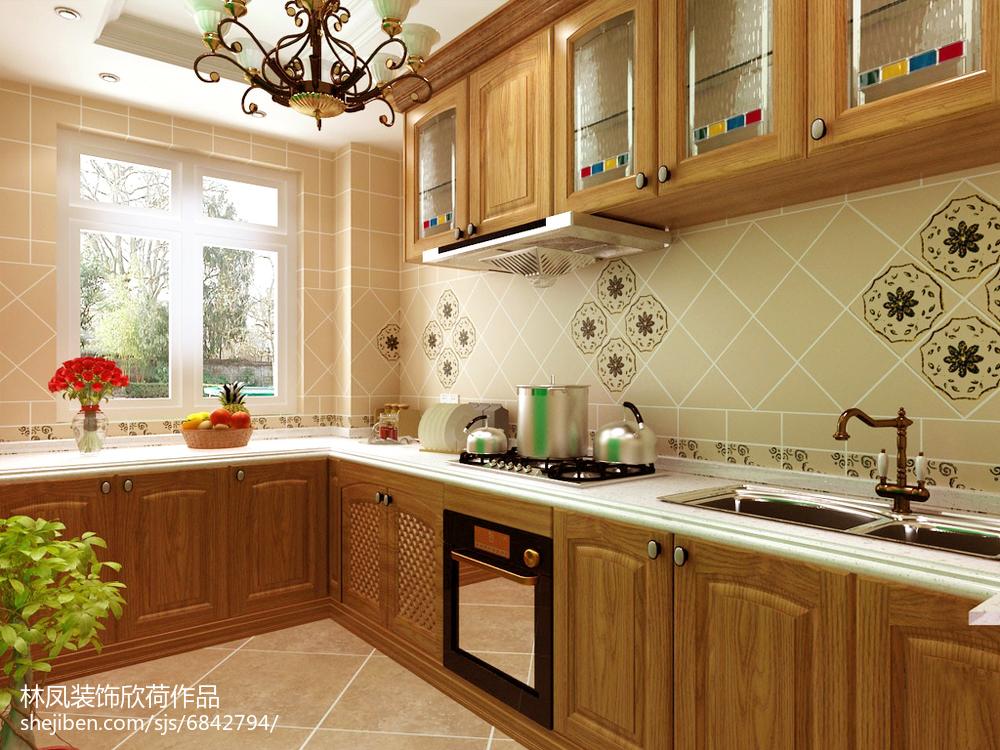 2018精选79平米二居厨房现代装修图