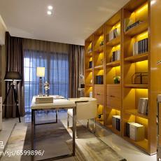 精美现代四居书房装修实景图片欣赏