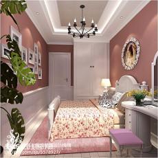简美式90平米两室两厅装修效果图