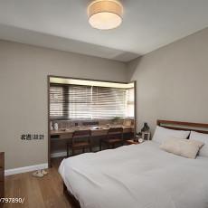 优雅107平现代三居卧室装修效果图