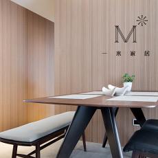 精选89平米二居餐厅现代装饰图片